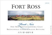 FRIA 2010 PINOT NOIR: BICENTENNIAL. Fort Ross Vineyard, Fort Ross-Seaview, Sonoma Coast
